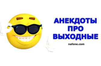 Анекдоты про выходные
