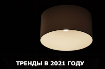 Светильники: тенденции, новинки в 2021 году